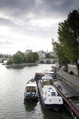 Ile de la Cite and the River Seine, Paris, France