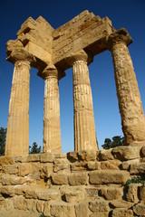 Dioskuren-Tempel im Tal der Tempel / Agrigent