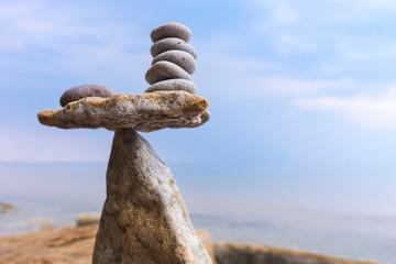 Equilibrium zen stones