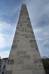 Walled Obelisk on Hippodrome in Istanbul