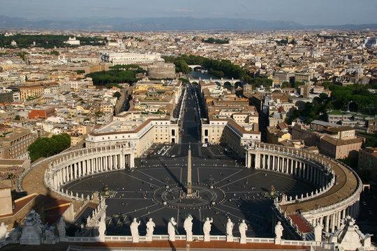 Petersplatz - Piazza San Pietro im Vatikan