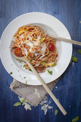 Spaghetti Tomaten