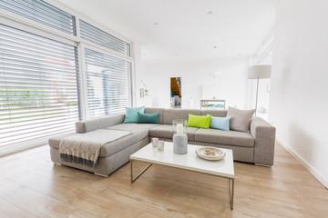 Modern bright living-room