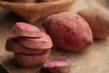 fresh yam sweet red