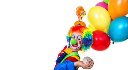 Child clown party