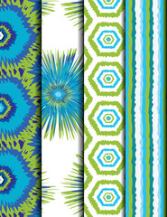 colorful ethnic pattern