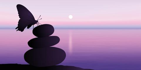AUBE Soleil Zen-Papillon