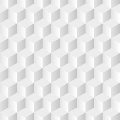 Cubes Gray Background in Vector