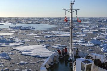Tourist Icebreaker - Greenland