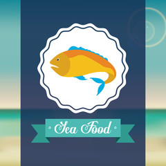 sea food fish design