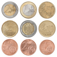 Collection set euro