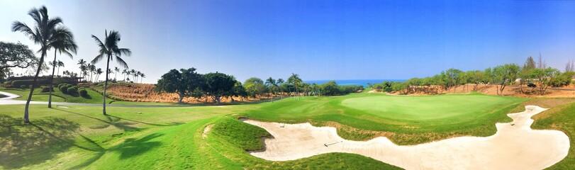 Fotobehang Golf golf panorama 1