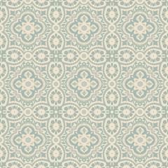 Elegant antique background image of lace flower round kaleidoscope pattern.