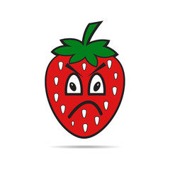 strawberry fruit character