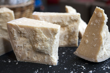 parmesan cheese seasoned for sale at Borough Market