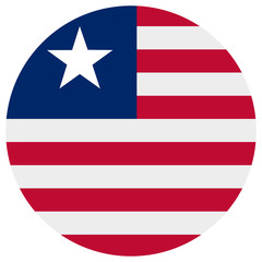 Liberian flag vector