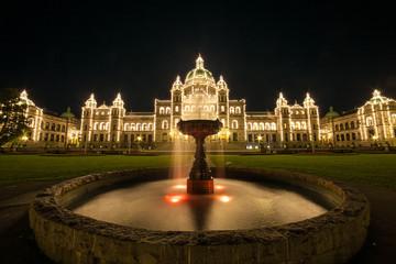 Il Parlamento dello Stato della British Columbia, Canada