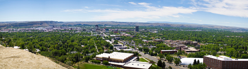 Billings Montana From the Rims