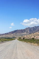 Famous Route 40 in Salta, Argentina.