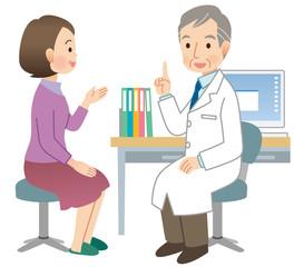 医療 診察 女性