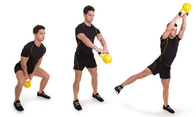 Kettlebell, Overhead Swing Abduction, Exercise