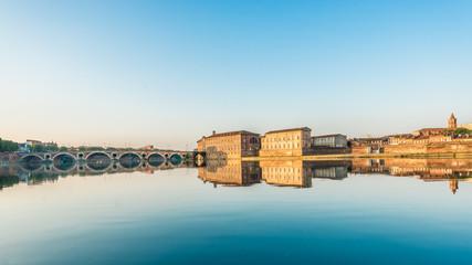 Fototapeta Pont Neuf in Toulouse, France. obraz