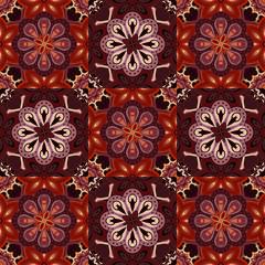 Seamless colorful pattern in oriental style. Islam, Arabic, Asian motifs