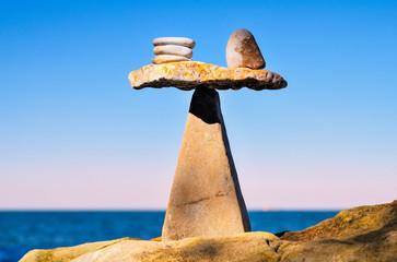 Well-balanced of stones
