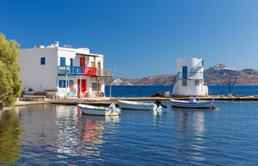 Empourios, Milos island, Cyclades, Greece