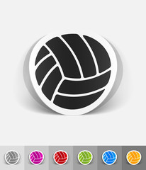 realistic design element. ball