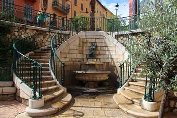 Treppe in Grasse / Frankreich