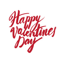Vector handwritten calligraphy sign - Saint Valentine's Day