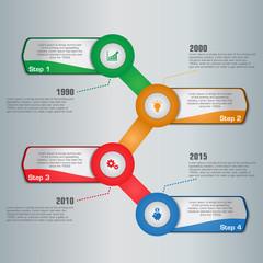 Multi Purpose Infographic Vector Design Template