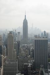 Empire State Building et Manhattan New York USA.