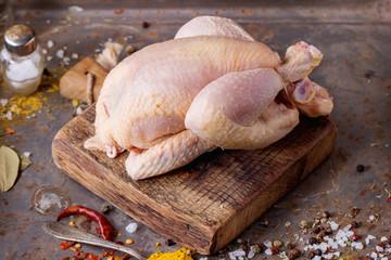 Raw mini Chicken