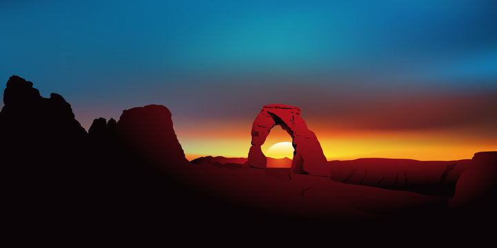 Paysage Sandstone Arch