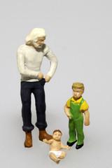 alleinerziehender Vater