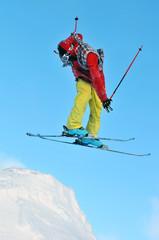 twist and jump on skis