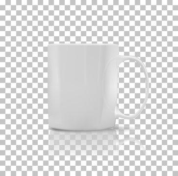 Set of Cup or Mug White Color