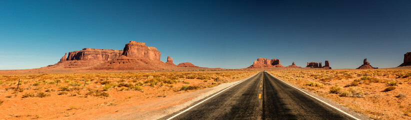 Road to Monument valley, Arizona Fototapete
