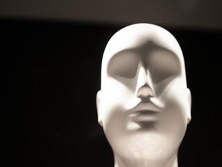 White Mannequin Head