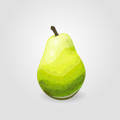 One ripe pear