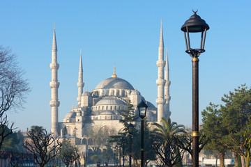 Türkei, Istanbul, Sultan-Ahmed-Platz, Sultanahmet, Blaue Moschee, menschenleer