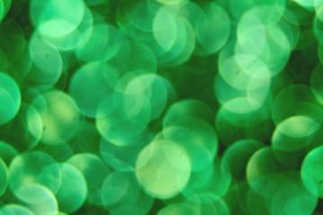 Bokeh zielony.