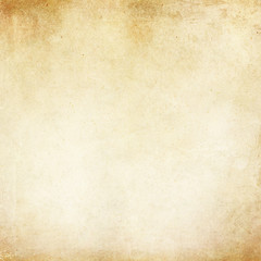 Vintage Tan Parchment Antique Paper Grunge Background