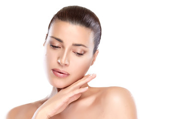 Beauty Spa Woman. Skin Care Concept