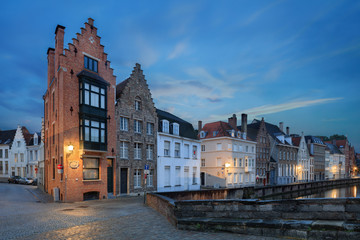 waters of Spiegelrei, Bruges