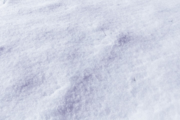 background of fresh snow, filter applied