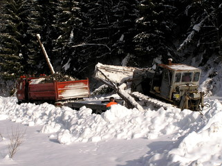 Bulldozers and winter
