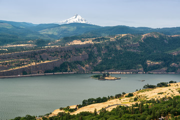 Columbia River Gorge and Mt Hood